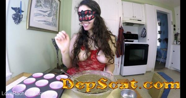 Baking Poop Muffins… Eat Them All, Slave LoveRachelle2 - Scatology, Solo [4K UltraHD/1.76 GB]