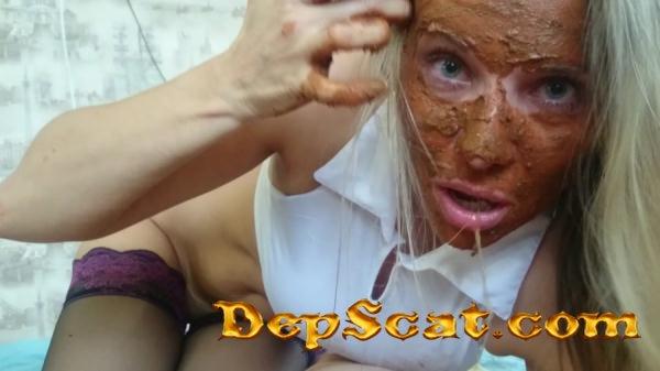 Demonic scat blowjob Brown wife - Amateur, Blowjob [FullHD 1080p/1.20 GB]