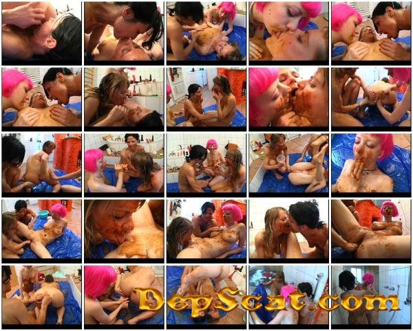 Scatfist Festival Cherry Torn, Isabelle - Scat, Lesbians, Fisting [DVDRip/639 MB]