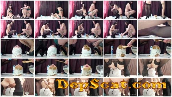 It was doubly tasty Smelly Milana - Humiliation, Defecation [FullHD 1080p/2.28 GB]