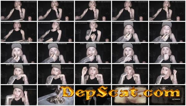PUKE and VOMIT after Hot-Dog with CUM DirtyBetty - Solo, Teen [FullHD 1080p/593 MB]
