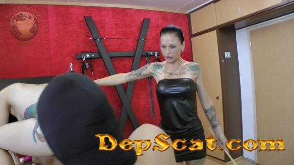 Femdom Scatting Leatherdyke - Latex, Domination [HD 720p/1.00 GB]