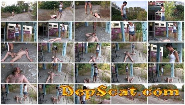 Femdom Scat_1005 Leatherdyke - Domination, Scat Porn [HD 720p/251 MB]