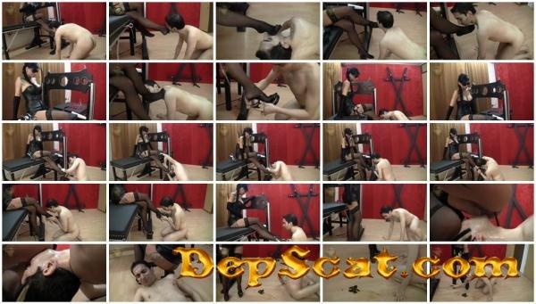 Femdom Scat_1013 Leatherdyke - Femdom, Shitting [HD 720p/138 MB]