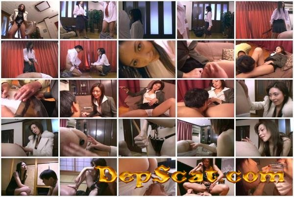 Domination Scat Mistress Nami - Scat, Japan [DVDRip/1.46 GB]