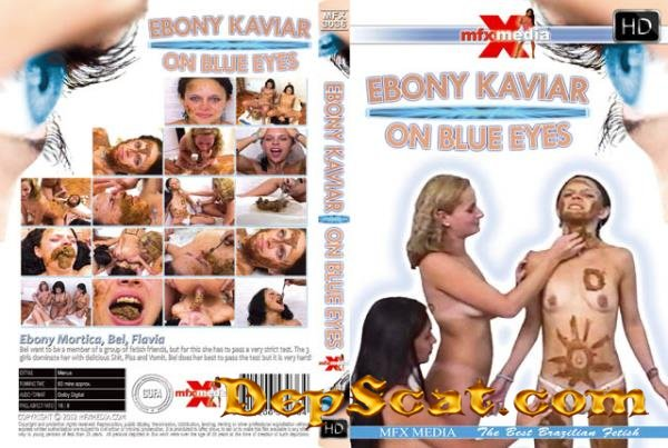 [MFX-3036] Ebony Kaviar on Blue Eyes Ebony, Mortica, Bel, Flavia - Lesbian, Domination, Brazil [HDRip/1.34 GB]