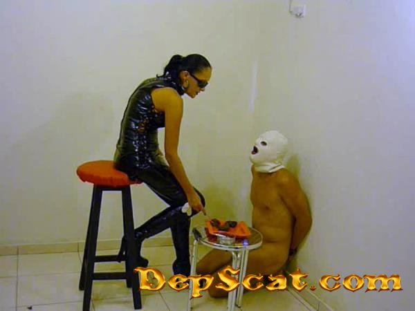 2 Day Scat Miss Larisa - Latex, Scat, Domination [SD/94.4 MB]