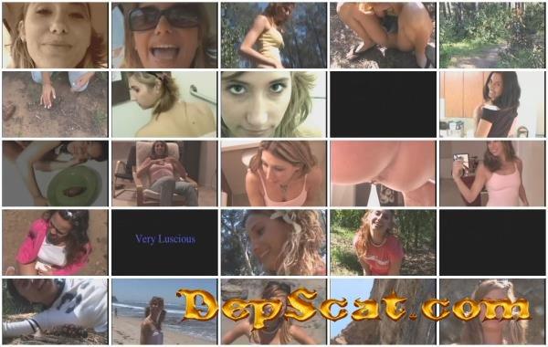 College Girls Pooping Road Trip Kylee, Kayla, Kamryn, Rachel - Scat, Peeing, Solo [SD/700 MB]