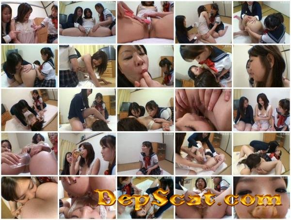 ODV-250 Three daughters dirty clothes in the manure Various amateurs - Scat, Lesbian, Japan [DVDRip/1.58 GB]
