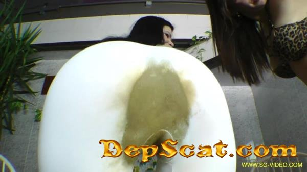 Scat Domination White Scat Pants 2 Domina - Pantyhose, Domination [FullHD 1080p/3.15 GB]
