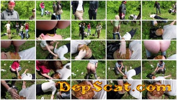 Married man toilet at the hen party MilanaSmelly - Domination, Scat Porn [HD 720p/1.37 GB]