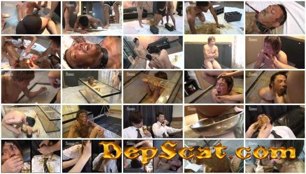 Black Hole 8 - Men Eat Shit ACSM158 - Threesome, Cumshot, Japan [HDRip/1.96 GB]