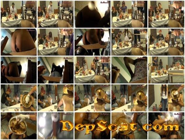 Toilet Mouth High Pressure System II Britany, Christine, Carmen, Karina, Inka - Scat, Piss, Femdom [HDRip/4.07 GB]