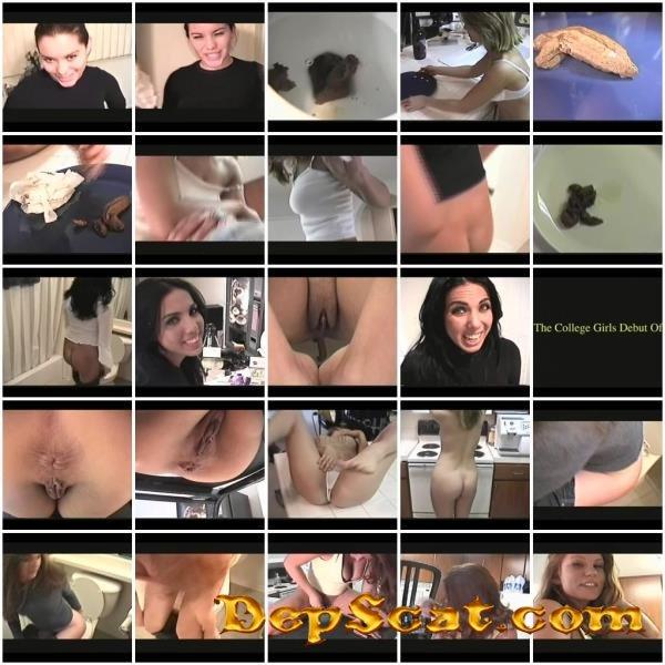 College Girls Pooping 5 Baylee, Alyssa, Sabreena, Samantha, Mirfee, Sofea, Dianah, Amber, Aryn - Scat, Peeing, USA [SD/700 MB]