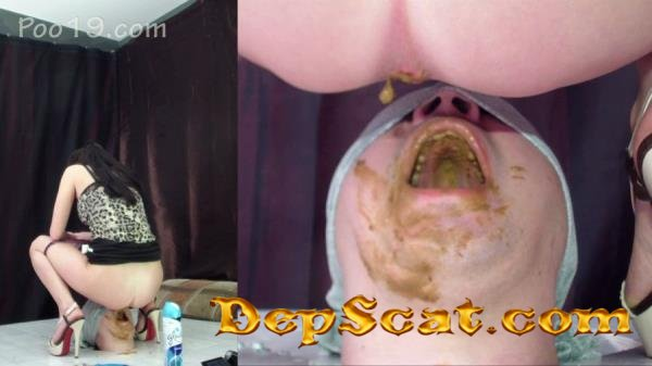 Rapid swallowing of female shit without chewing MilanaSmelly - Humiliation, Face Sitting [HD 720p/1.81 GB]