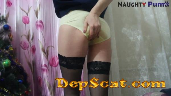 PantyLoading part 16 with NaughtyPuma NaughtyPuma - Shit In Pantyhose, Solo [FullHD 1080p/499 MB]