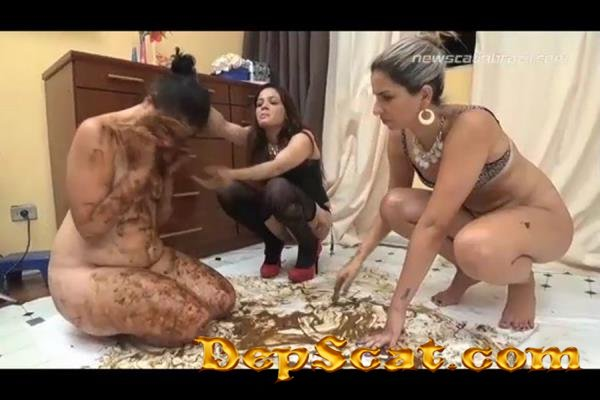Mel and Carolyne have a dirty surprise for Michele Mel, Carolyne, Michele - Domination, Brazil [HD 720p/1.23 GB]