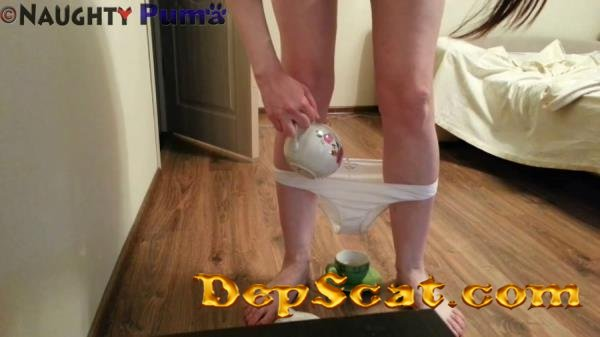 Pantypoop and a Cup of Tea NaughtyPuma - Solo, Panty [FullHD 1080p/611 MB]