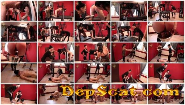 Scatting and instiled Lady Chantal, Miss Jane - Domination, Spanking [HD 720p/531 MB]