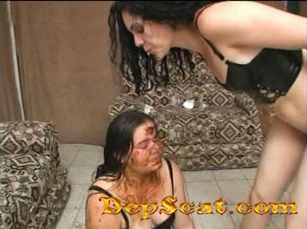 Sadist Dominatrixes Diana, Karina Morena, Mariana, Ravana, Shirley Morena - Group, Scatting [SD/699 MB]