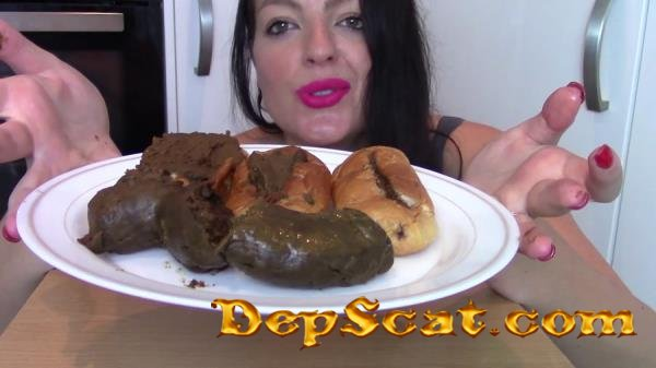 Ginormous Shit Meal For Slave (Biggest Poo To Date) Evamarie88 - Solo, Milf [FullHD 1080p/725 MB]