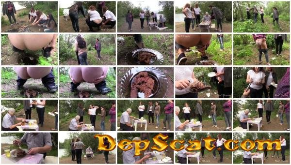 Happy birthday! Shit and earwax! MilanaSmelly - Group, Defecation [HD 720p/1.57 GB]