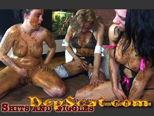BETTY PRIVATE - SHITS AND GIGGLES Betty, Desiree, Eliza - Scatology, Lesbians [HD 720p/1.58 GB]