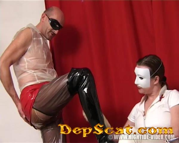 Rubber Shit Clinic Chris-Extreme, 2 Male Patients - Scat, Pissing, Rubber [SD/674 MB]
