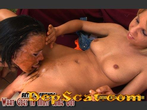BETTY & FRIENDS - WHAT GOES IN MUST COME OUT Betty, Layla - Amateur, Lesbians [HD 720p/983 MB]