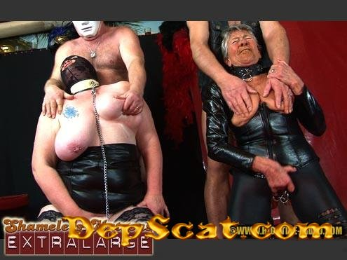 SHAMELESS MATRONS EXTRALARGE Linda, Angelina, Mia, 2 males - Domination, Big Tits, Milf [SD/700 MB]