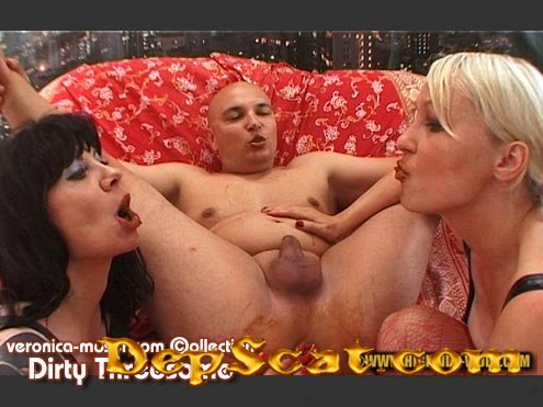 VM38 - DIRTY THREESOME Veronica Moser, Veronika, Hans - Scatology, Group [SD/1.94 GB]