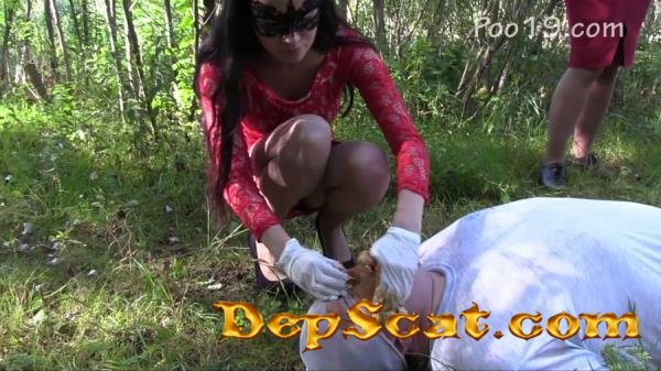 You can breathe only through the mouth MilanaSmelly - Outdoor, Humiliation, Group [HD 720p/1.13 GB]