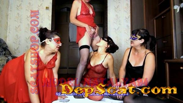 Four girls play cards on desire ModelNatalya94 - Milf, Lesbians [FullHD 1080p/1.44 GB]