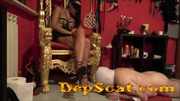 The training goes on Mistress Gaia - Domination, Scat [FullHD 1080p/508 MB]