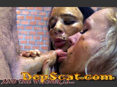 BETTY PRIVATE AND THE WINNER IS... Betty, Desiree, 1 male - Sex Scat, Blowjob [HD 720p/713 MB]