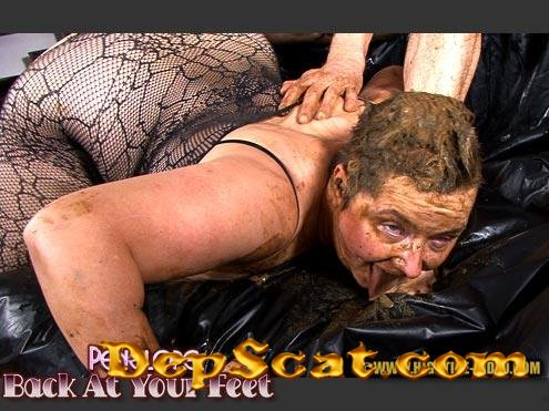 PENELOPE - BACK AT YOUR FEET Penelope, 1 male - Domination, Sex Scat, Blowjob [HD 720p/1.12 GB]