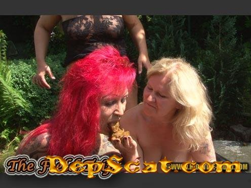 THE FIELD TRIP Rosella, Marlen, Kelly, 1 male - Lesbians, Mature [SD 720p/541 MB]