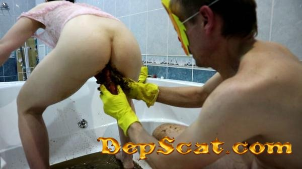 Fecal bath Part 2 WCwife -  [FullHD 1080p/1.96 GB]