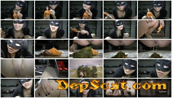 A dedication to Natasha Mistress Gaia - Scatology, Solo, Play [HD 720p/510 MB]