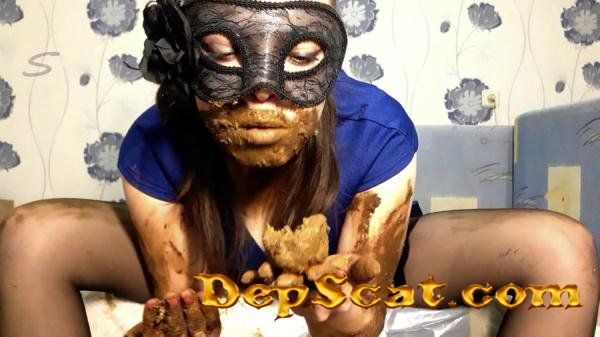 I wear a diaper and take off my mask ScatLina - Scatology, Solo [FullHD 1080p/1.24 GB]