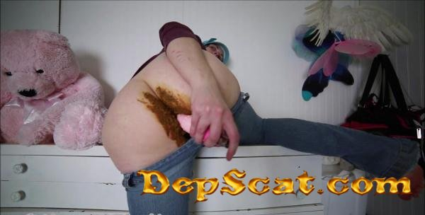 Shitty Jeans and dirty dildo pussy fuck BabyDollNaughty - Pantyhose, Solo [FullHD 1080p/1.03 GB]