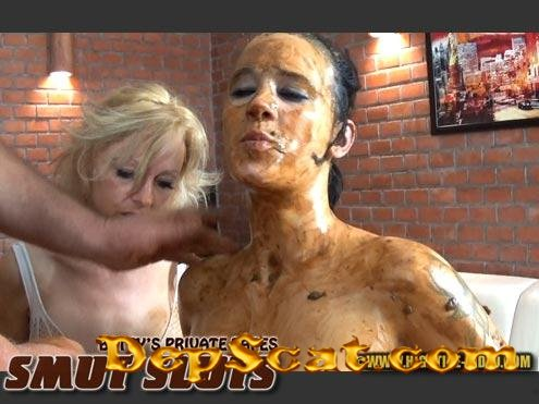 BETTY PRIVATE - SMUT SLUTS Betty, Desiree, 1 male - Blowjob, Group [SD 720p/1.31 GB]
