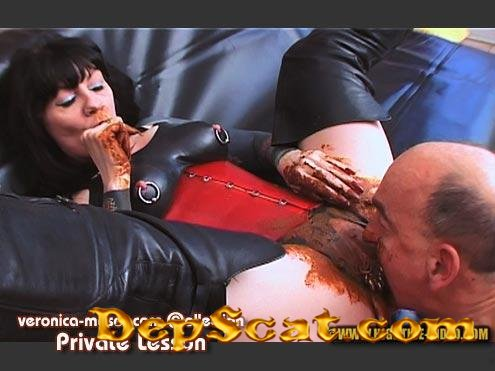 VM63 - PRIVATE LESSON Veronica Moser, 1 male - Femdom, Shitting [HD 720p/1.16 GB]