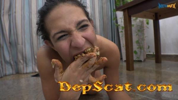 Shit sandwich ShitGirls - Humiliation, Brazil, Lesbians [UltraHD 4K/3.87 GB]