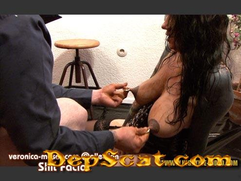 VM64 - SHIT FACIAL Veronica Moser, 1 male - Toilet Slavery, Milf [HD 720p/1.27 GB]