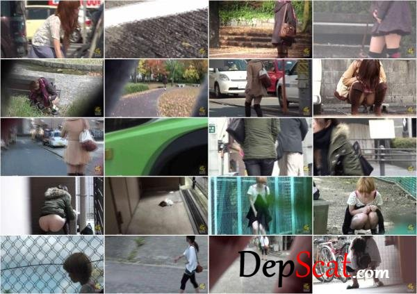 PM118 Peeing and pooping outdoor voyeur. - Desperation, Scatting [HD 720p/1.62 GB]