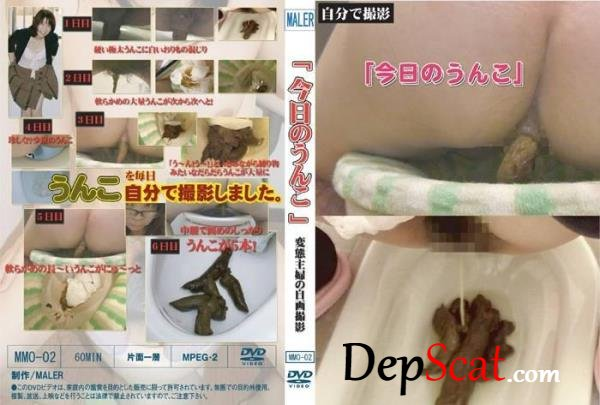 Defecation girls pattern of feces in toilet. - スカトロ, Copro [SD/763 MB]