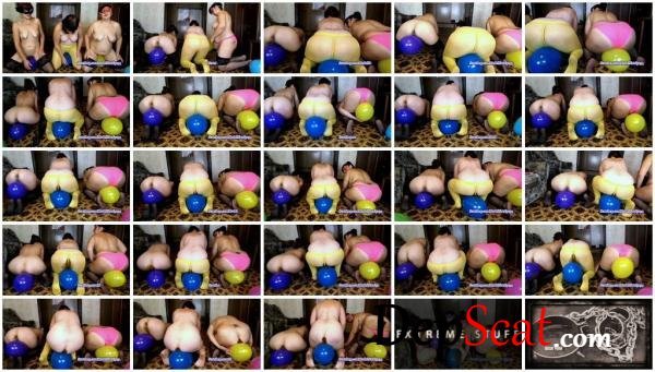 Game with balloons ModelNatalya94 - Amateur, Lesbians [FullHD 1080p/1.27 GB]