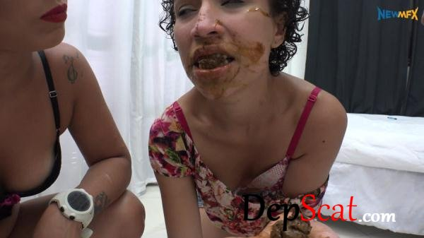 Cigarettes and scat Geovana, Chimeny - Humiliation, Lesbians [UltraHD 4K/3.59 GB]