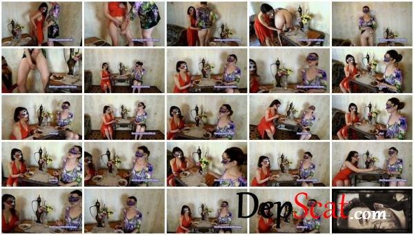 Carolina and Alice eat their poop ModelNatalya94 - Amateur, Lesbians [FullHD 1080p/1.19 GB]